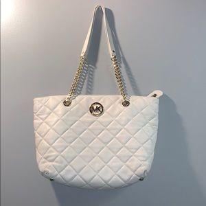 White Michael Kors Handbag